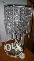 2 crystal side lamps. .