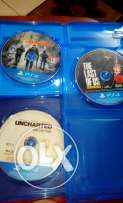 Last of us, uncharted collection, the division