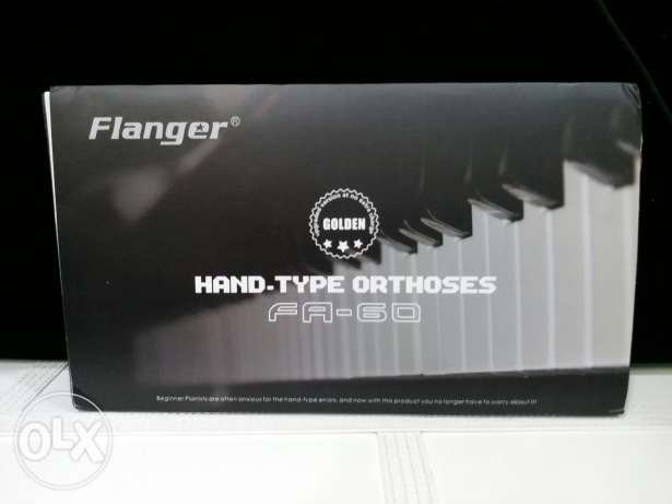 Piano flanger- Hand posture assistance