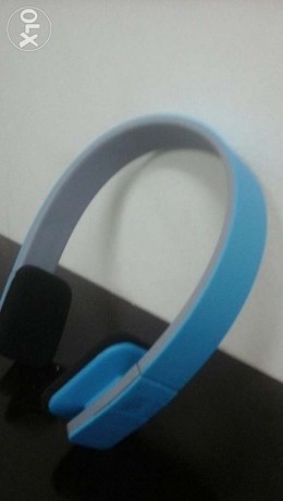 Bluetooth stereo headset ( blue )